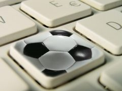 keyboard soccer ball football betting online