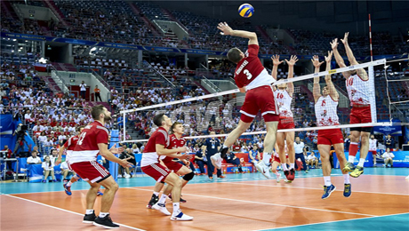 Volleyball - popular betting sports in Australia - online sports betting